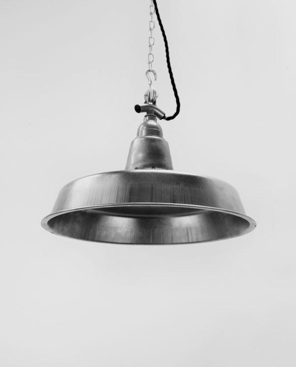 workshop raw industrial light silver