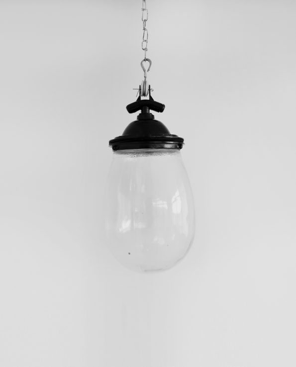 Glass bulb black