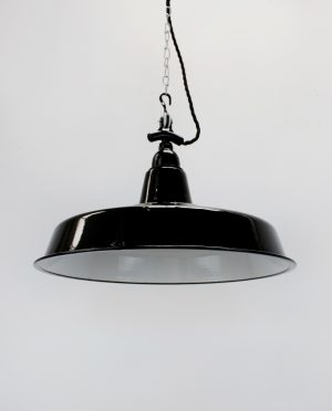 400mm industrial light shadeblack