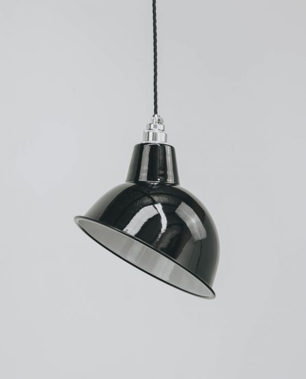 angled cloche chrome
