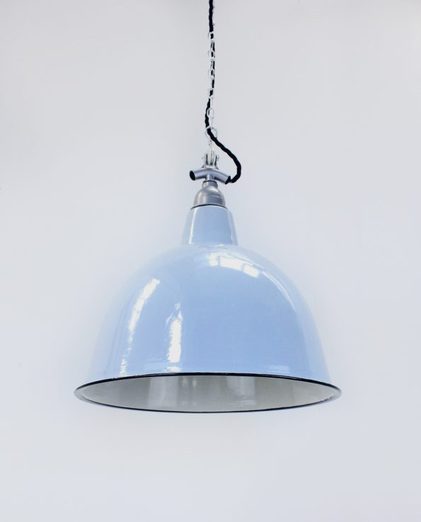 duck egg cloche silver