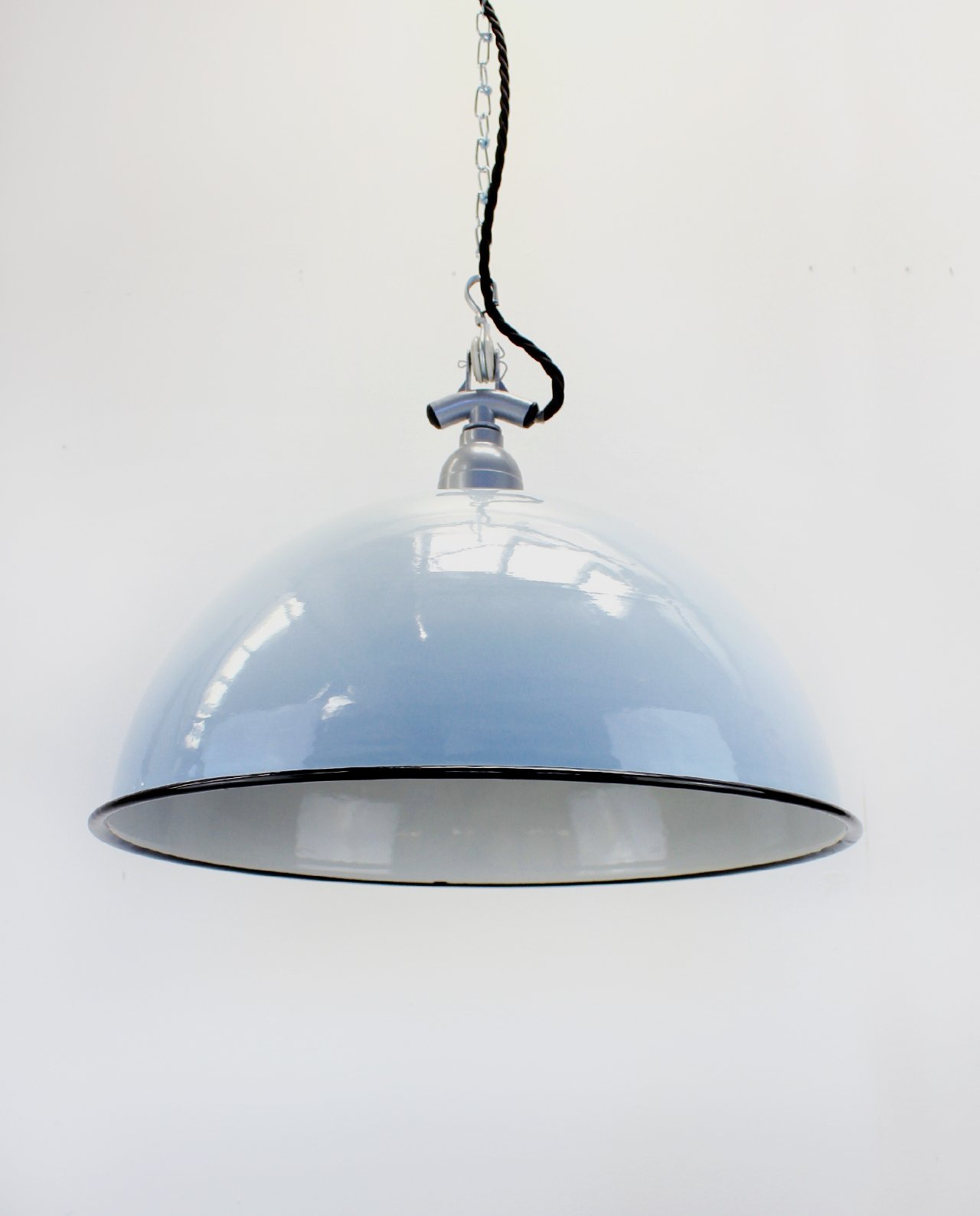 Dome duck egg light silver