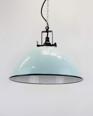 Enamle dome teal fitting