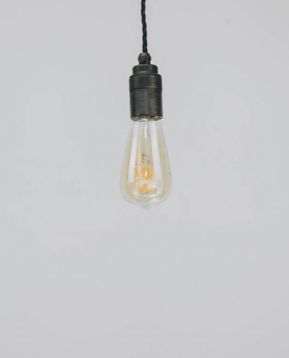 ST64 amber bulb