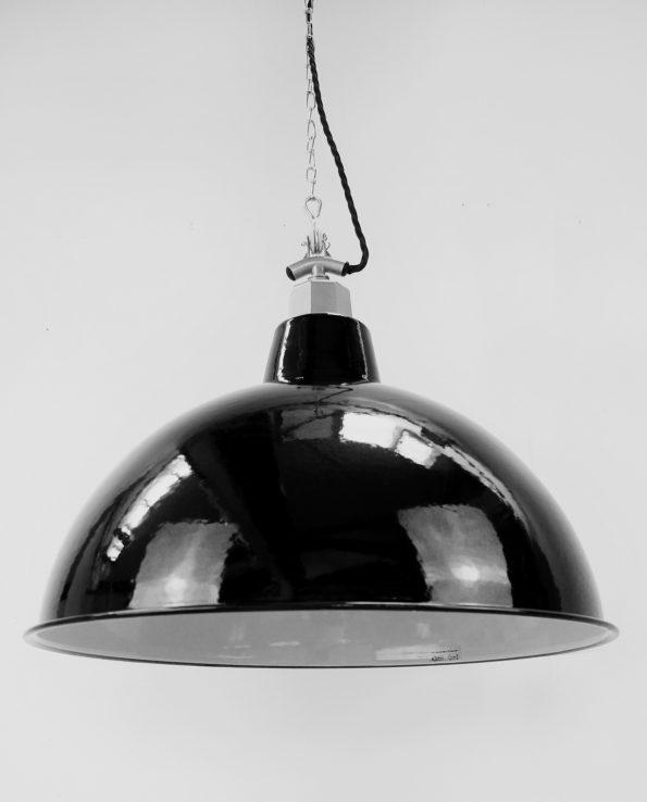 XXL industrial enamel light shade