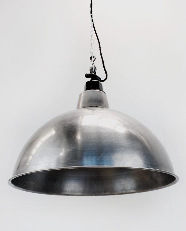 XXL industrial raw light shade black