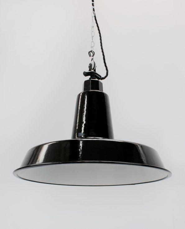XXL workshop enamel light shade black