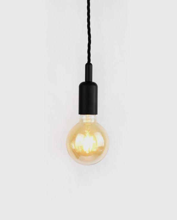 G95 black bare bulb