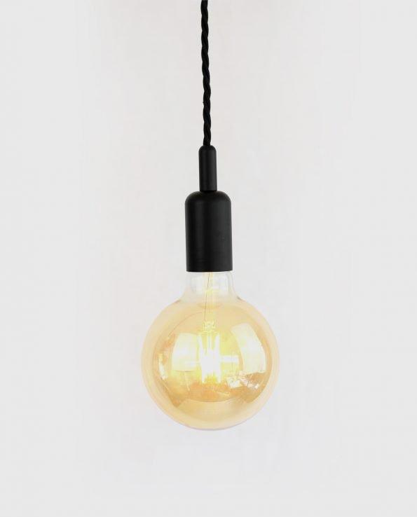 Bare bulb Black G125