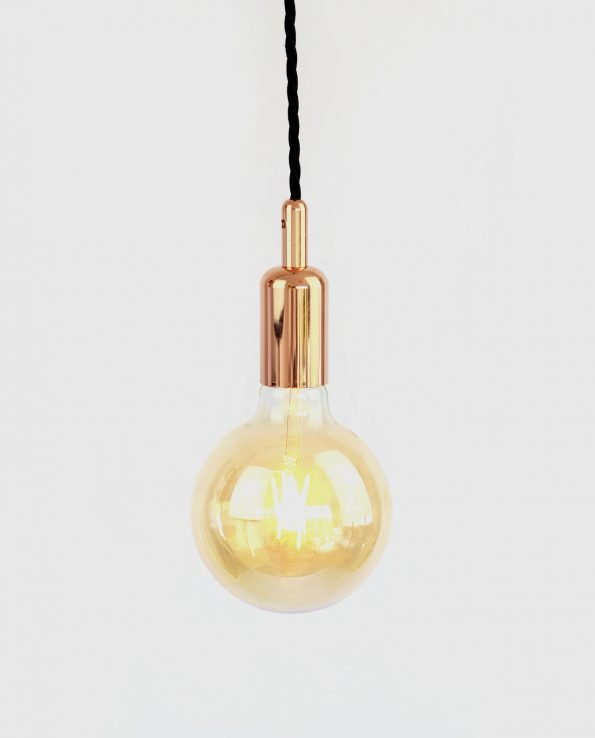 Copper bare bulb with G125