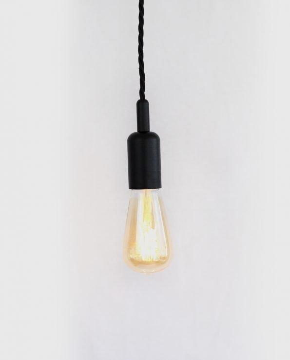 ST64 bare bulb pendant