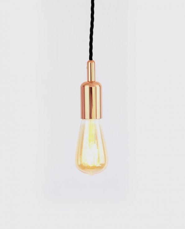 ST64 copper bare bulb