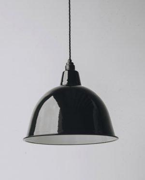 black cloche black lampholder