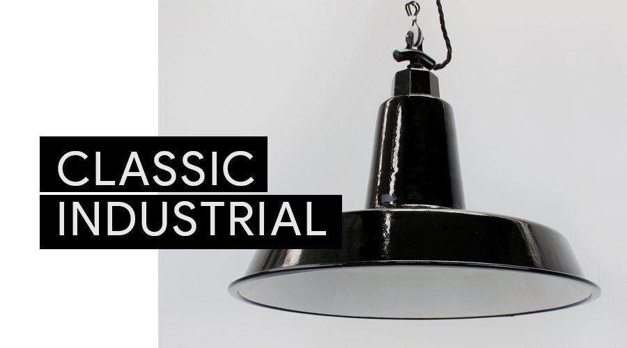 Classic Industrial Lighting