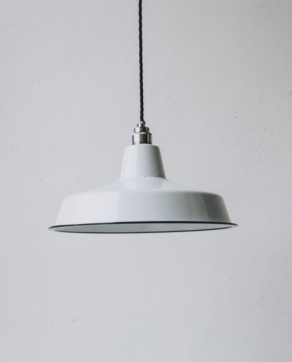 White workshop chrome