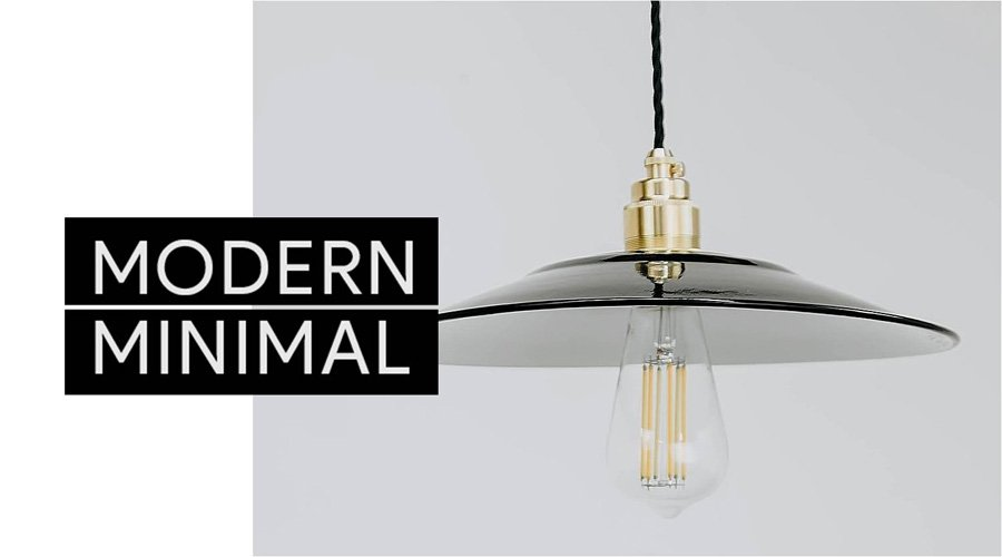 Modern Minimal Lighting
