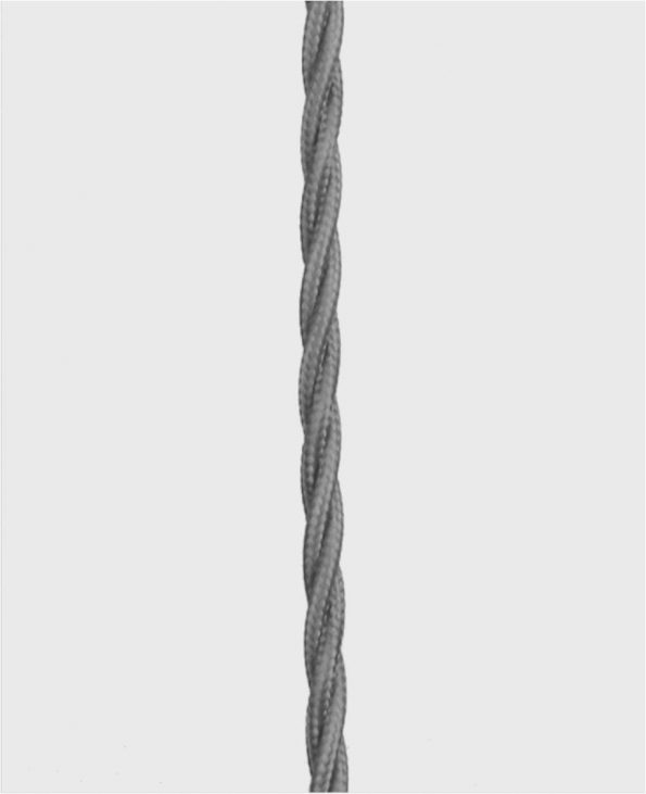 Cable Twisted Grey